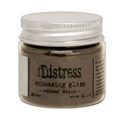 Walnut Stain, Ranger Distress Embossing Glaze - 789541071044