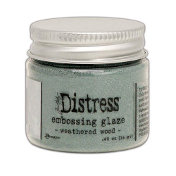 Weathered Wood, Ranger Distress Embossing Glaze - 789541071051