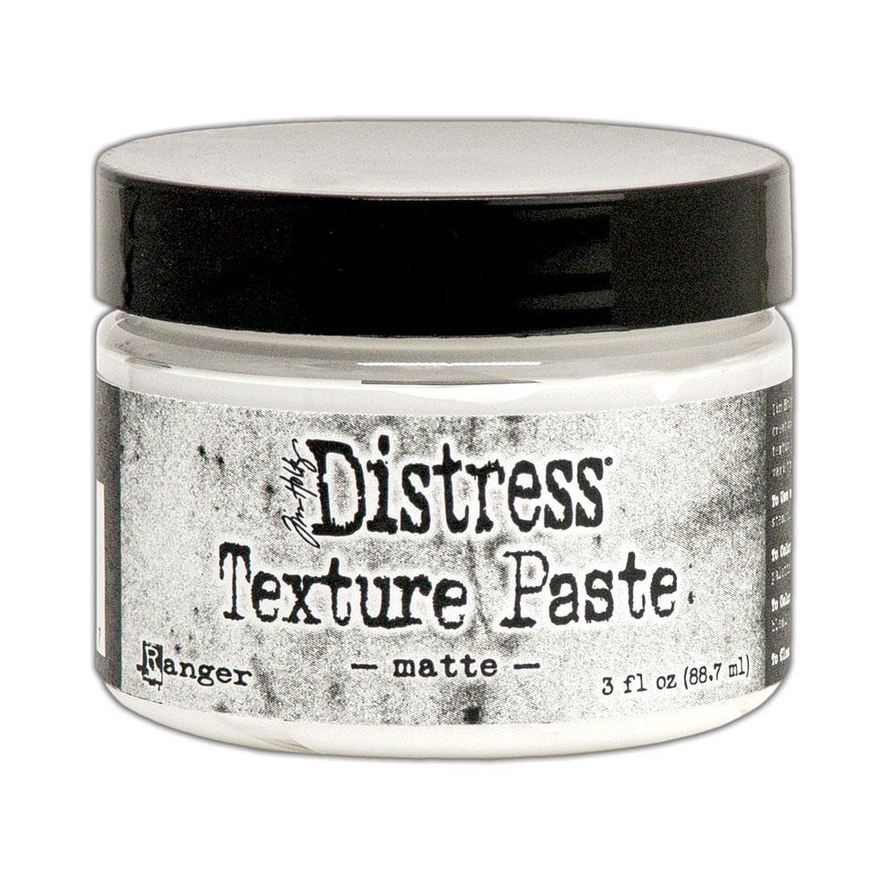 Matte 3 oz., Ranger Distress Texture Paste - 789541071297