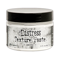 Matte 3 oz., Ranger Distress Texture Paste - 789541071297
