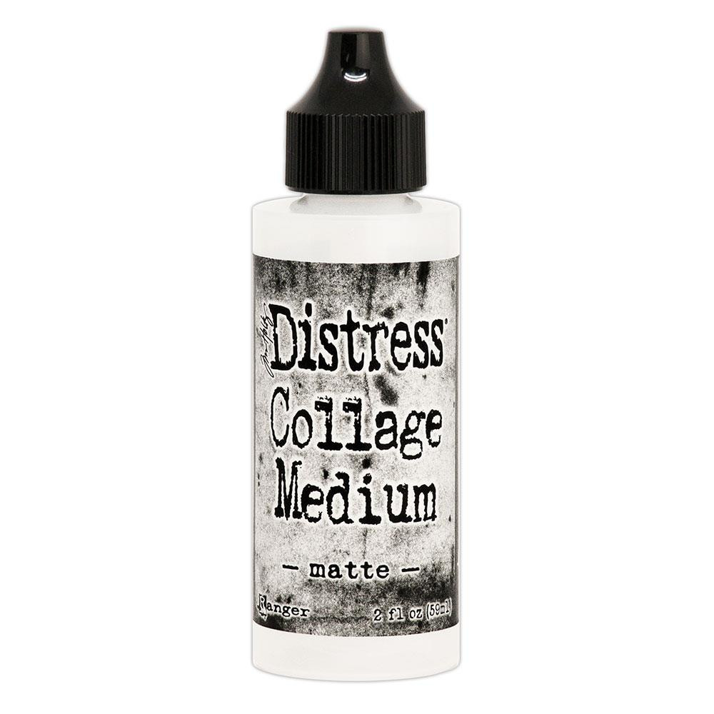Matte 2 oz., Ranger Distress Collage Mediums - 789541073031