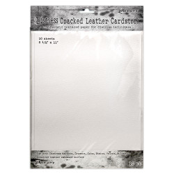 Cracked Leather 8.5 X 11, Ranger Distress Cardstock - 789541071280