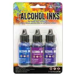 Indigo/Violet Spectrum, Ranger Alcohol Ink - 789541069775