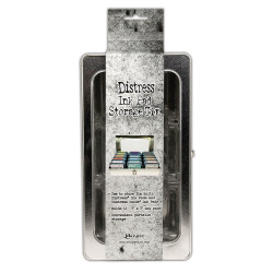 Ranger Distress Ink Pad Storage Tin - 789541068075