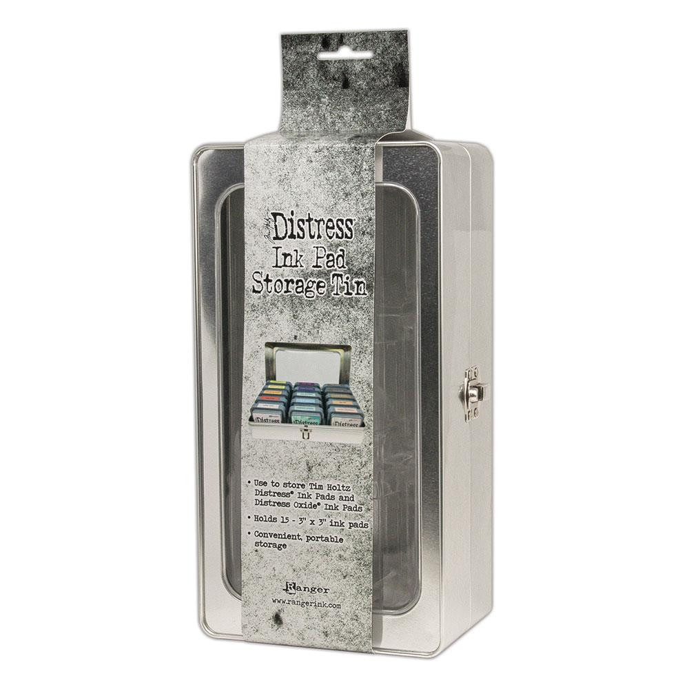 Ranger Distress Ink Pad Storage Tin - 789541068075