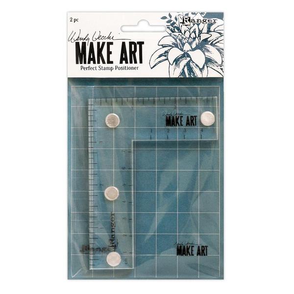 Make Art Perfect Stamp Positioner Set, Ranger Wendy Vecchi - 789541069119
