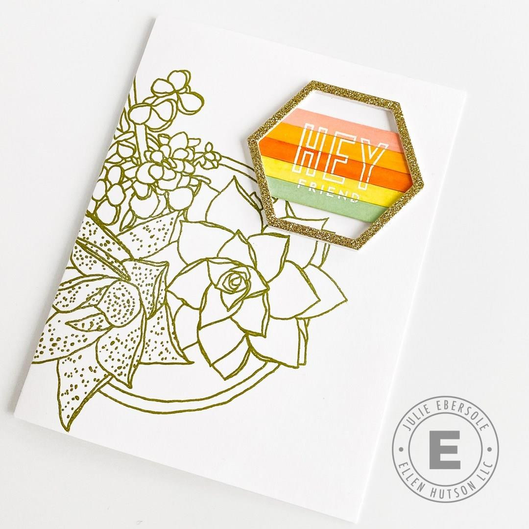 It's All Good by Julie Ebersole, Essentials by Ellen Clear Stamps -
