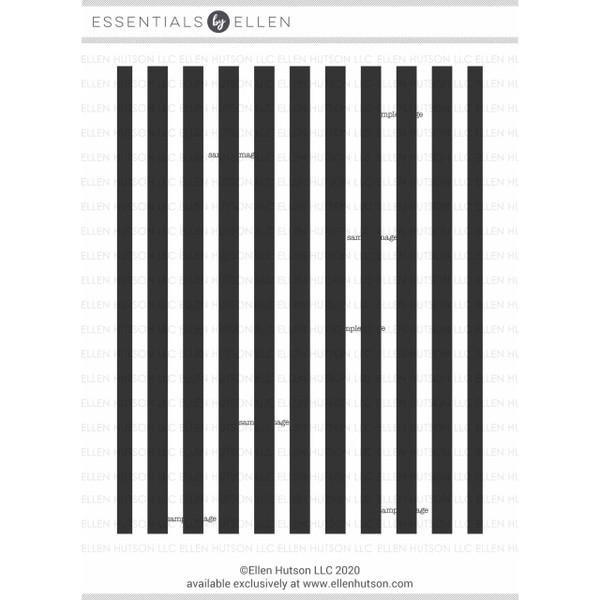 Stripe Background, Essentials by Ellen Clear Stamps -