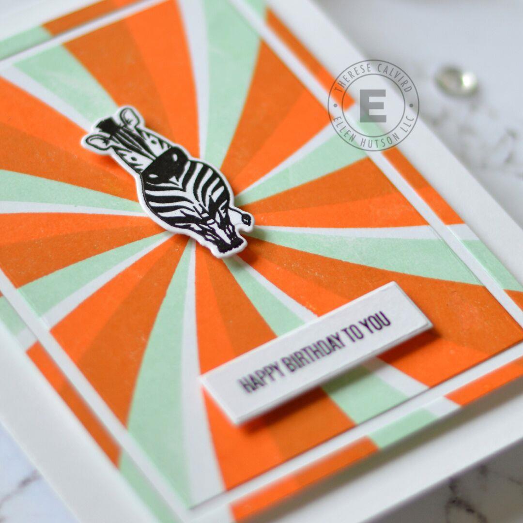 Swirl Background, Essentials by Ellen Clear Stamps -