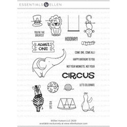 Life is a Circus by Brandi Kincaid, Essentials by Ellen Clear Stamps -