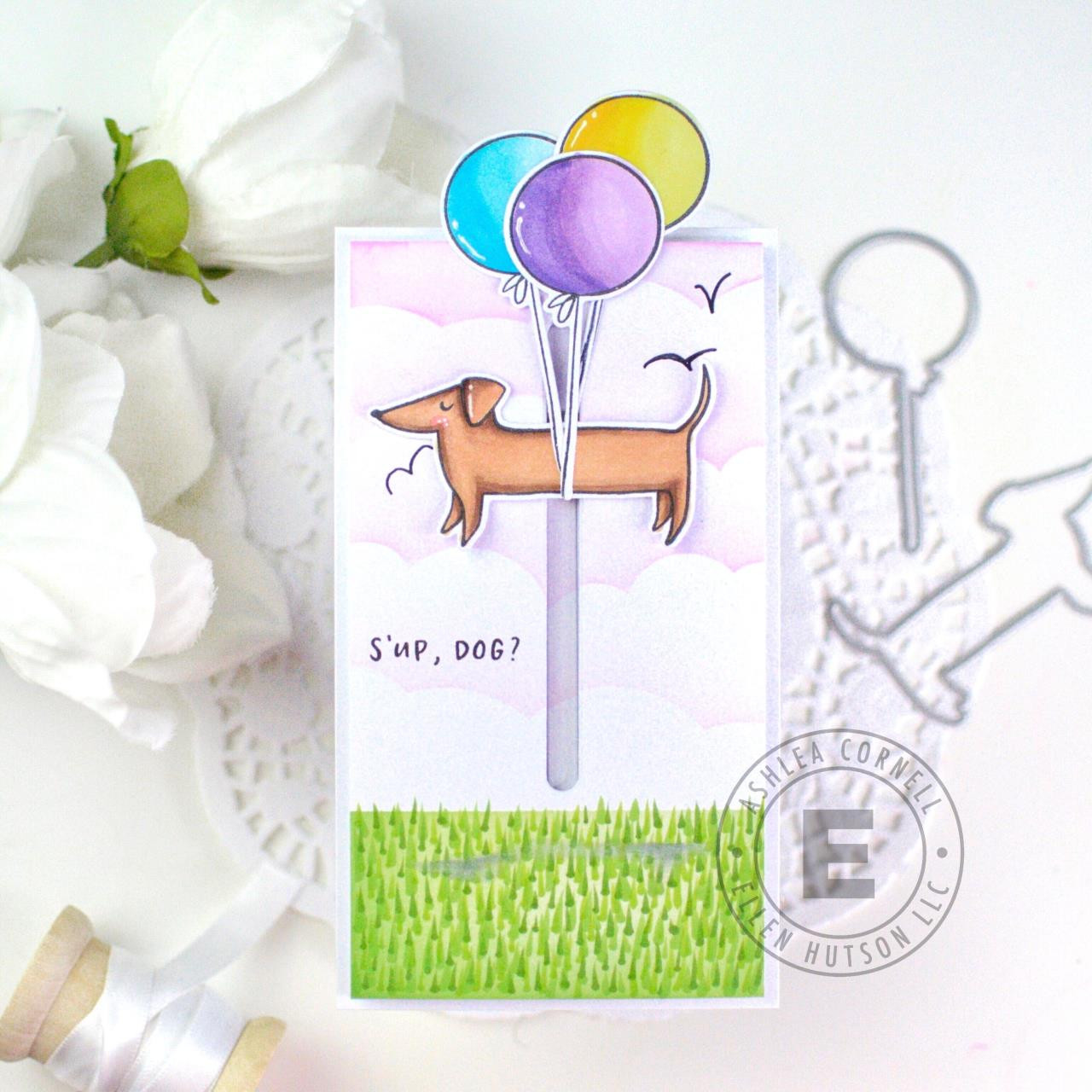 Clever Sausage by Julie Ebersole, Essentials by Ellen Clear Stamps -