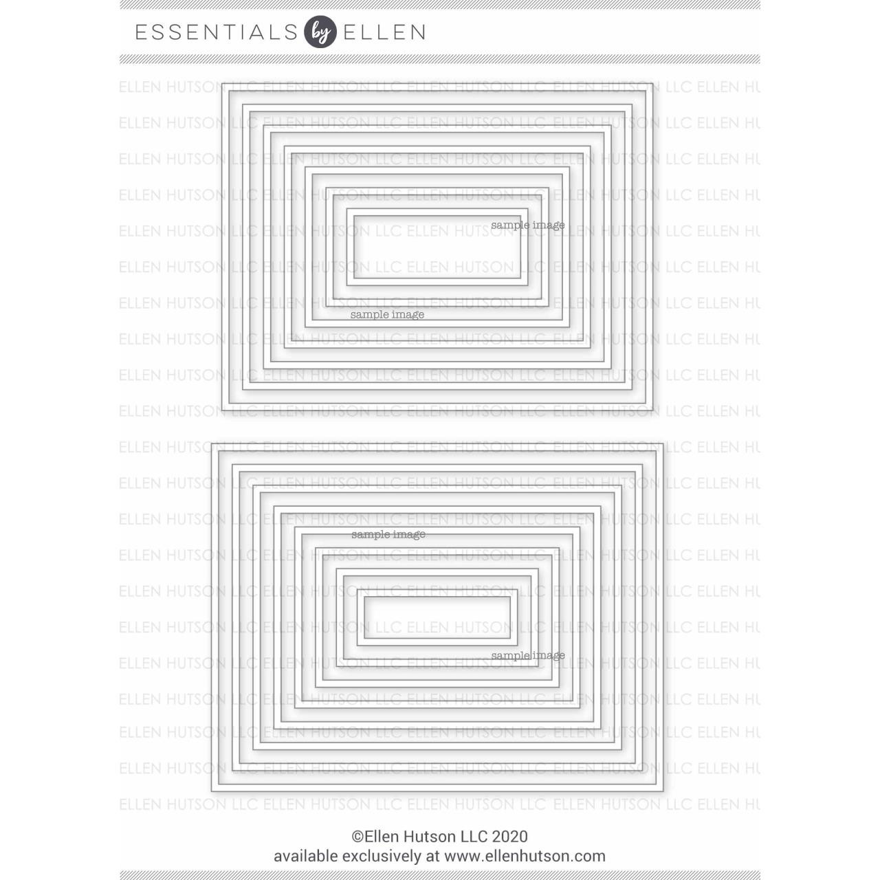 Essential Rectangles, Essentials by Ellen Designer Dies -