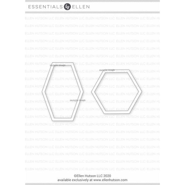 Hex Frames by Julie Ebersole, Essentials by Ellen Designer Dies -