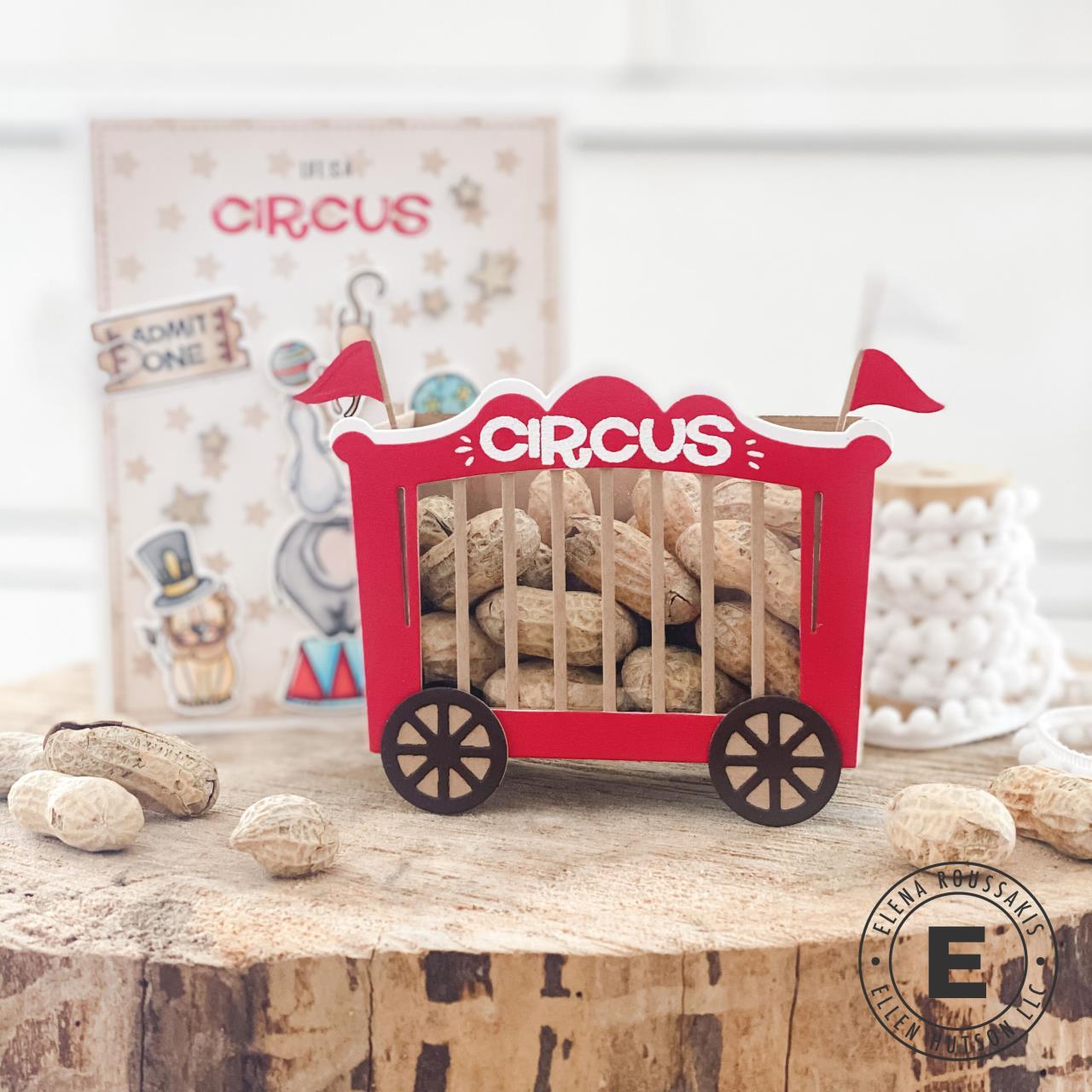Two-in-One Box, Circus Add-On, Essentials by Ellen Designer Dies -