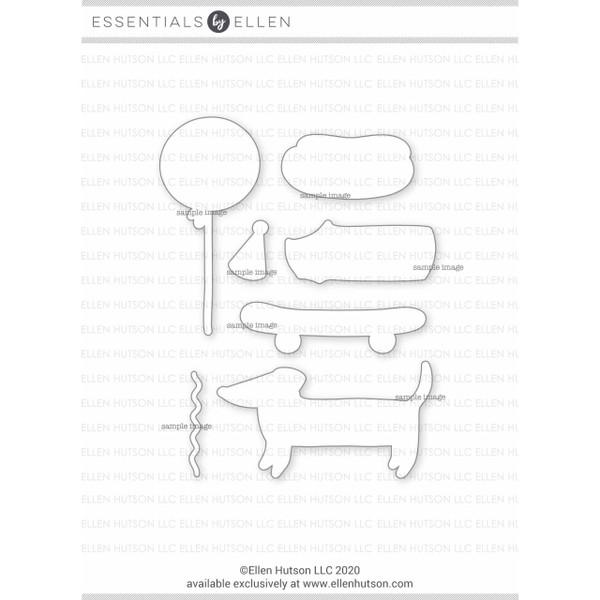 Clever Sausage by Julie Ebersole, Essentials by Ellen Designer Dies -