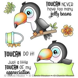 Toucan Do It, Darcie's Clear Stamps -