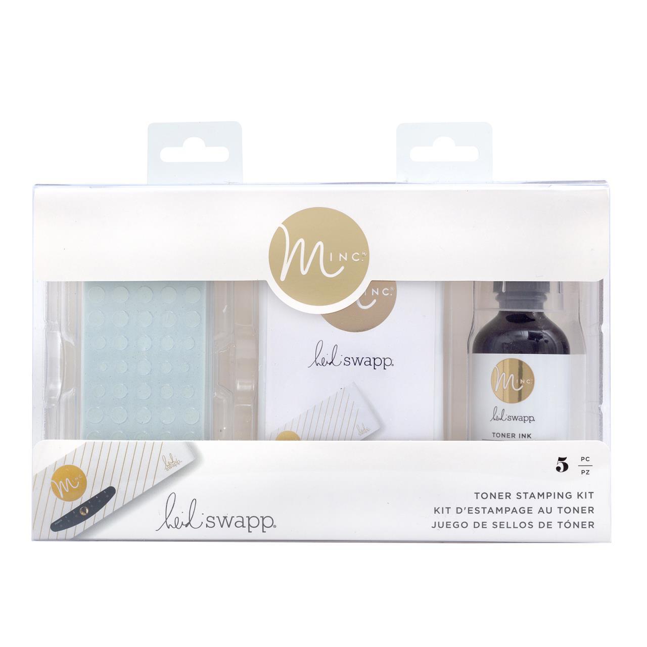 Minc Toner Stamping Kit, Heidi Swapp - 718813152860