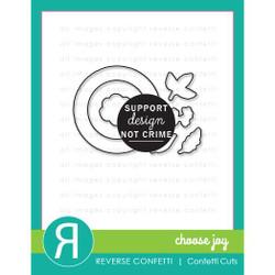Choose Joy, Reverse Confetti Cuts -