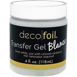 Deco Foil Transfer Gel BLANCO, Thermoweb -