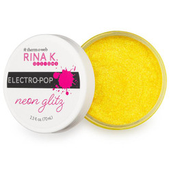 Hello Yellow, Rina K Designs Neon Glitz Glitter Gel -