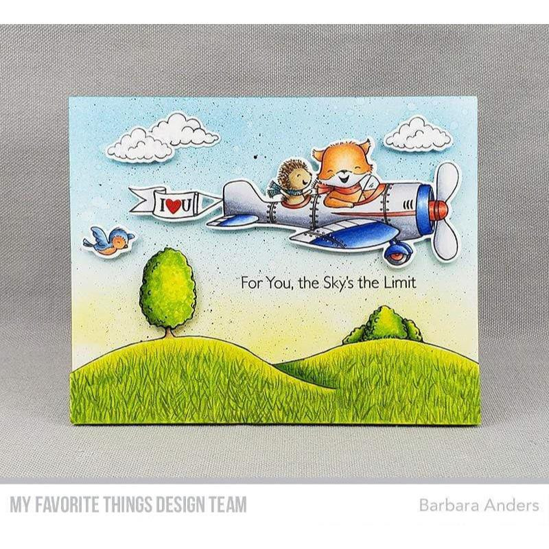 Sky High by Stacey Yacula, My Favorite Things Clear Stamps - 849923034804