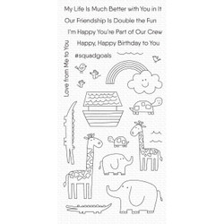 Double the Fun, My Favorite Things Clear Stamps - 849923034651