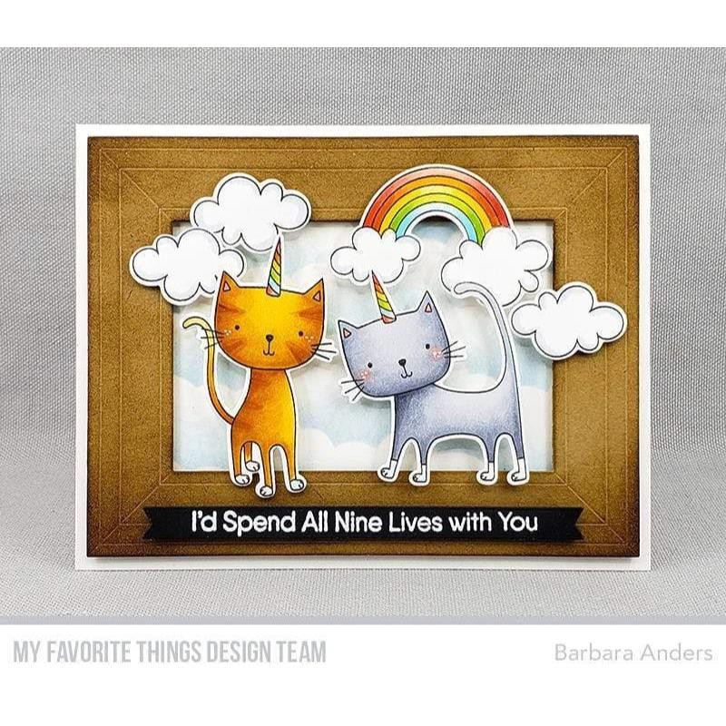 Caticorn, My Favorite Things Clear Stamps - 849923033890