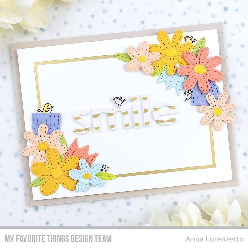 Stitched Garden, My Favorite Things Die-Namics - 849923034774