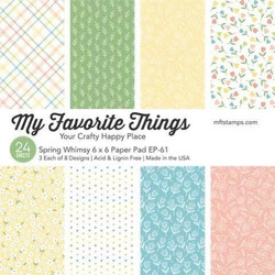 Spring Whimsy, My Favorite Things Paper Pack - 849923034644