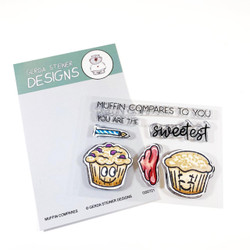Muffin Compares to You, Gerda Steiner Designs Clear Stamps -