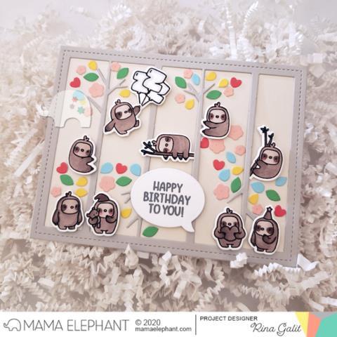 Tree Branch Cover, Mama Elephant Creative Cuts -
