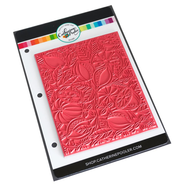 Fresh Squeezed Background, Catherine Pooler Cling Stamps - 819447026593