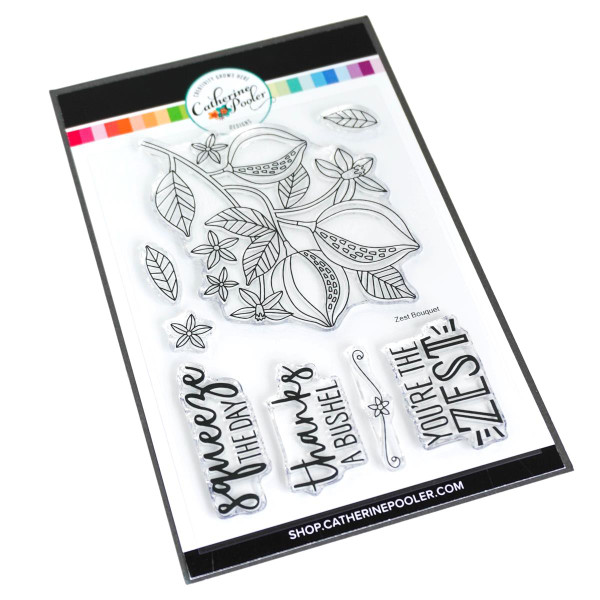 Zest Bouquet, Catherine Pooler Clear Stamps - 819447026937