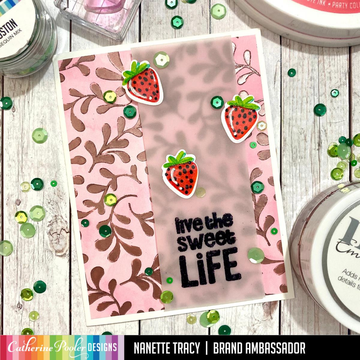Sweet Life, Catherine Pooler Clear Stamps - 819447026791