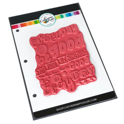 Good Day Background, Catherine Pooler Cling Stamps - 819447026586