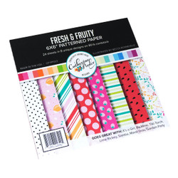 Fresh & Fruity, Catherine Pooler Patterned Paper - 819447026425