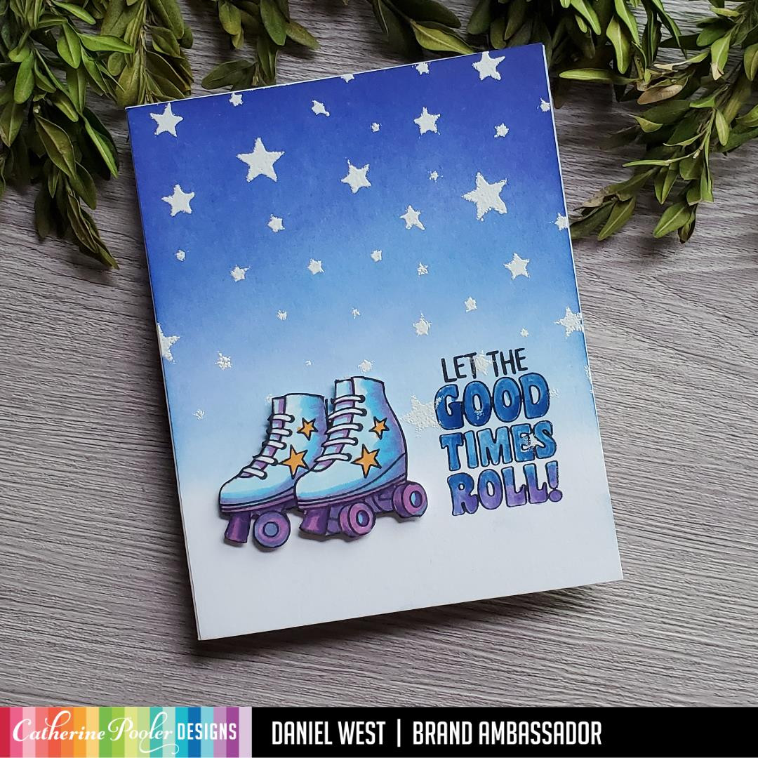 Let the Good Times Roll, Catherine Pooler Clear Stamps - 819447026371