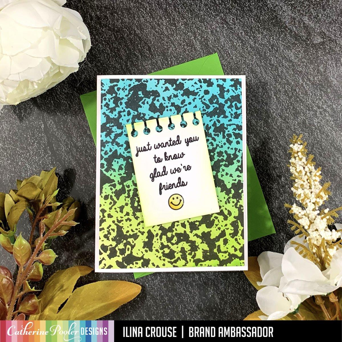 Composition Sentiments, Catherine Pooler Clear Stamps - 819447026951