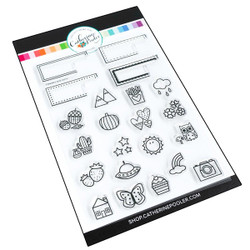 Headers and Icons, Catherine Pooler Clear Stamps - 819477027057