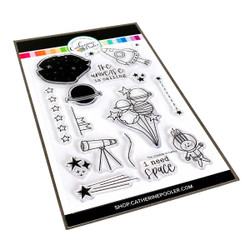 The Universe is Calling, Catherine Pooler Clear Stamps - 819447026357