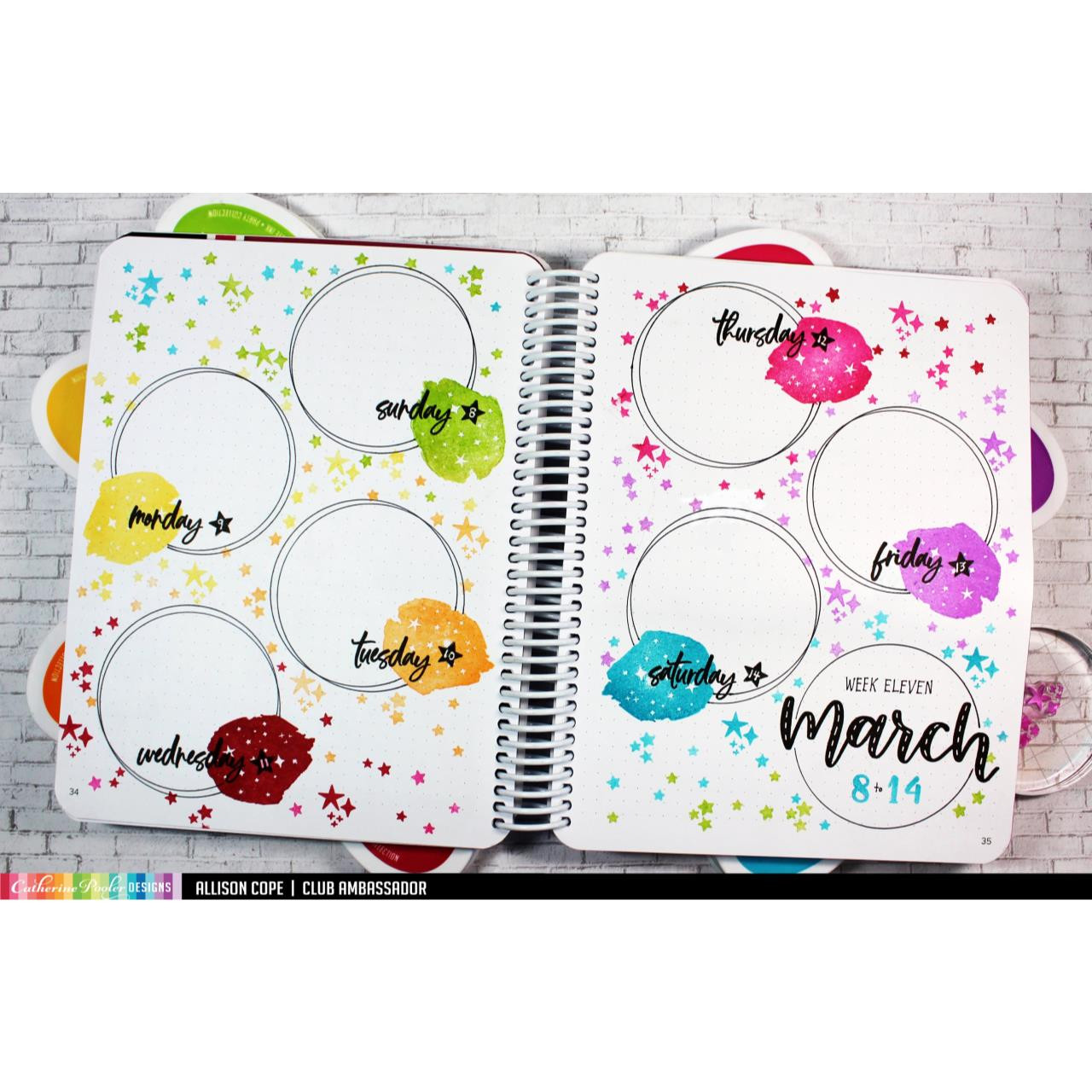 March, Catherine Pooler Clear Stamps - 819447026463