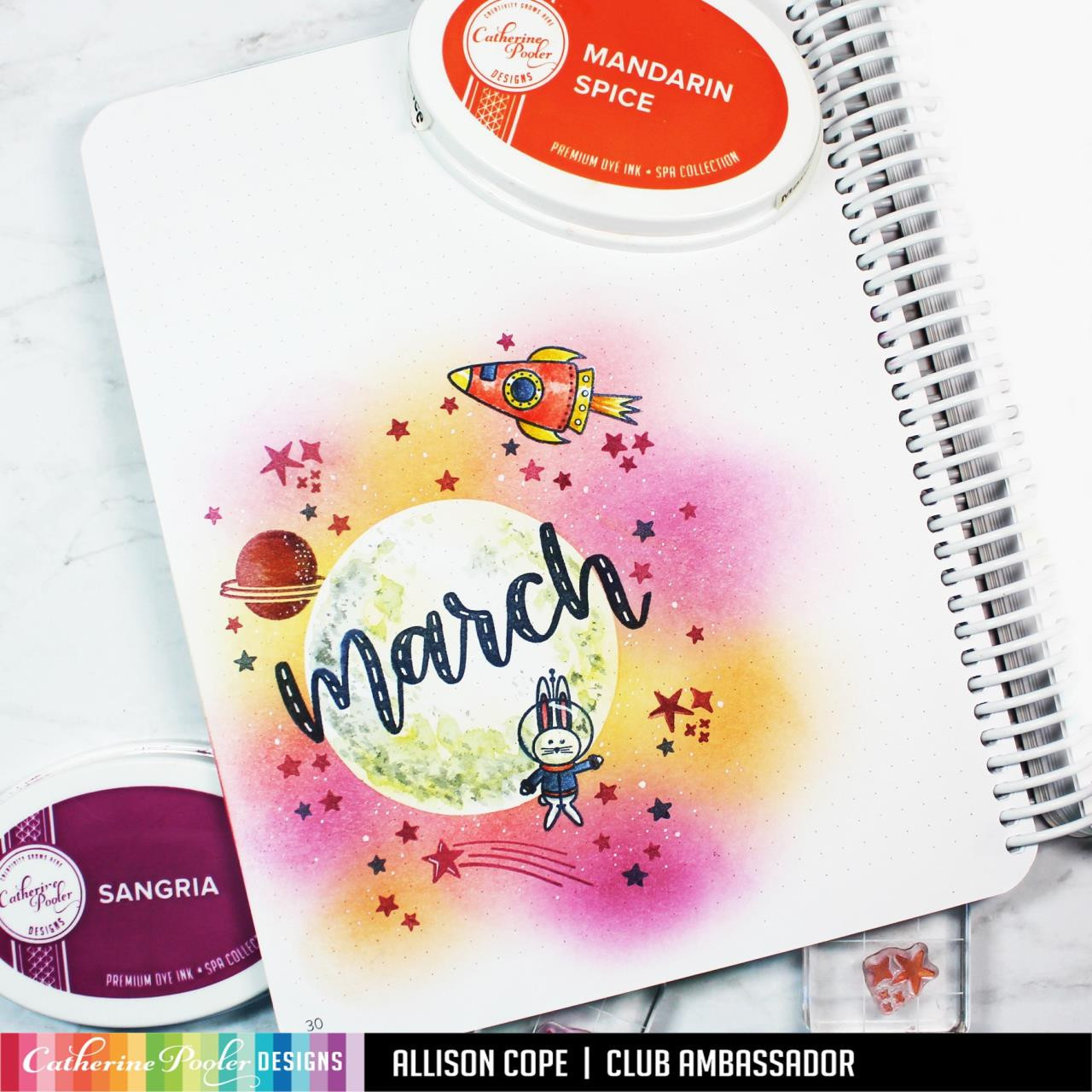 Weekly Two, Catherine Pooler Stencils - 819447026487