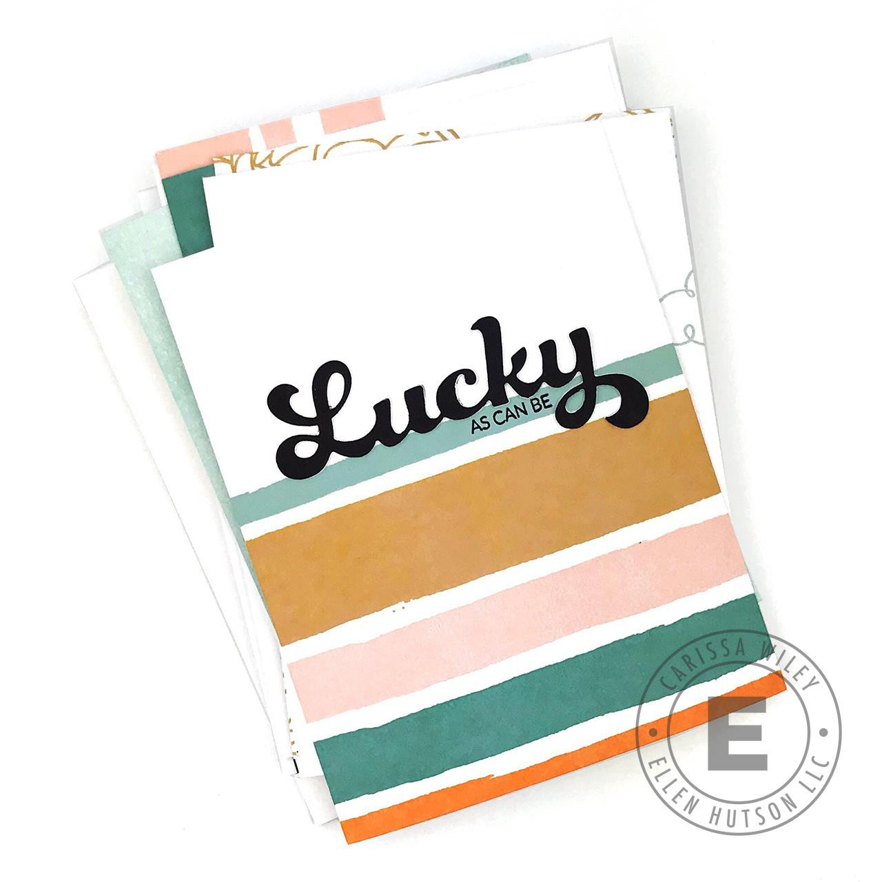 Lucky by Brandi Kincaid, Essentials by Ellen Clear Stamps -