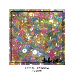 Crystal Rainbow Fusion, Studio Katia Sequins -