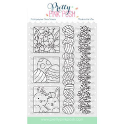 Spring Days, Pretty Pink Posh Clear Stamps -