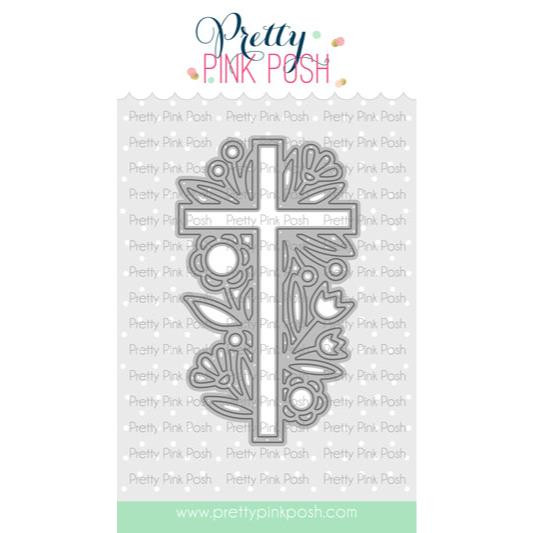 Decorative Cross, Pretty Pink Posh Dies -