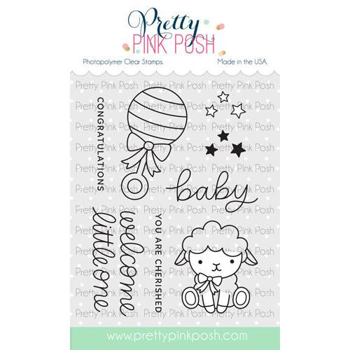 Little One, Pretty Pink Posh Clear Stamps -