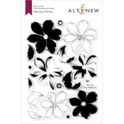Fabulous Floret, Altenew Clear Stamps - 737787260913