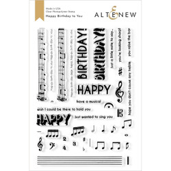 Happy Birthday to You, Altenew Clear Stamps - 737787260944