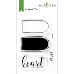 Heart You, Altenew Clear Stamps - 737787260951